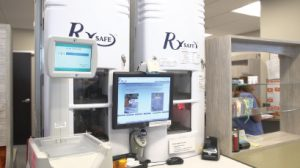 RxSafe 1800 installed at Paw Paw pharmacy