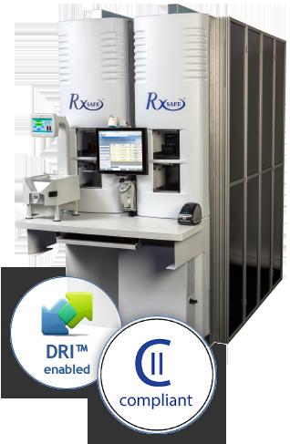 rxsafe 1800 robotic pharmacy dispenser rxsafe