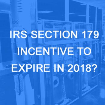 tax incentive changes in 2018