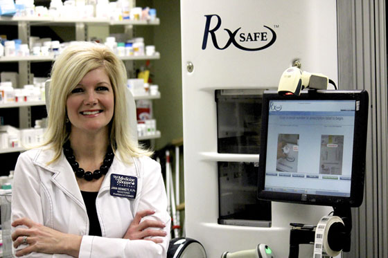 Medicine Shoppe pharmacy automation